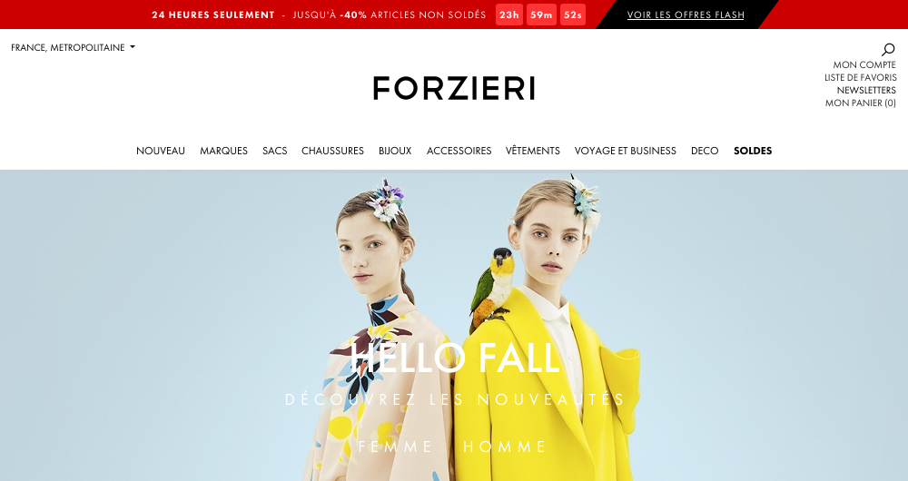 Forzieri fr_closing on the 30th of september 2018
