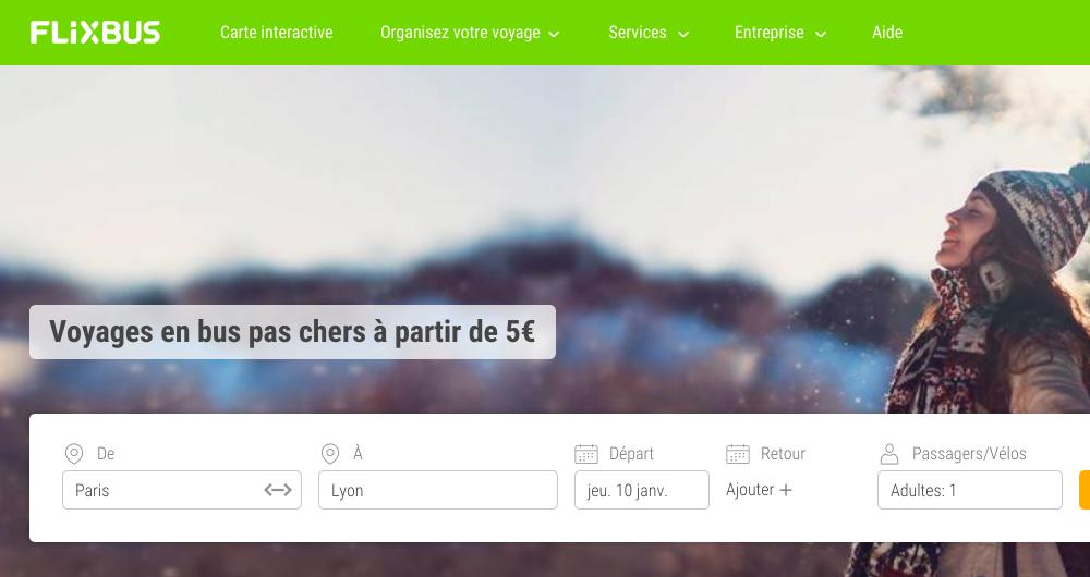 Soldes FlixBus : Plus que 500 000 billets à 0,99 ? disponibles