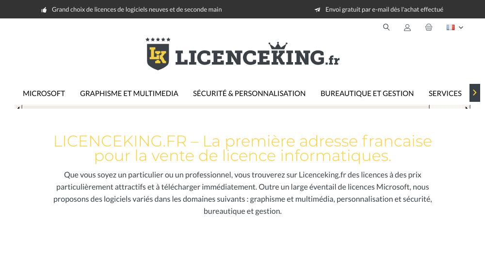 Licenceking France