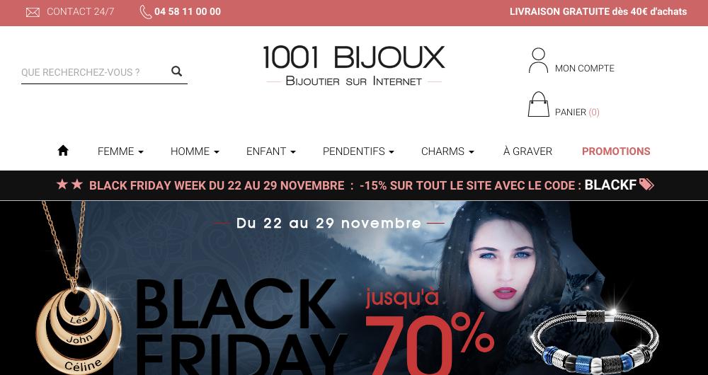 1001Bijoux - Bijoutier sur Internet